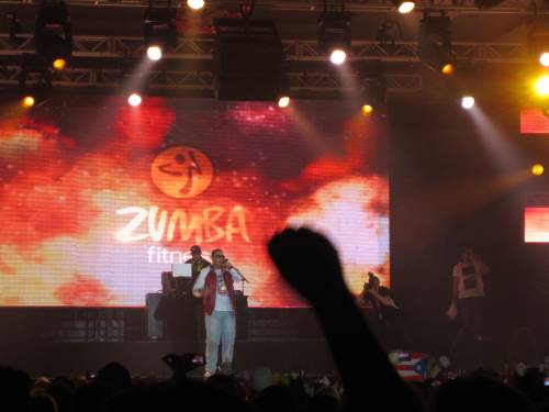 daddy yankee with zumba fitness