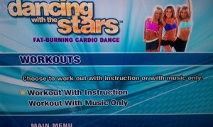 dwts workout screen