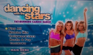 dancing with the stars workout menu